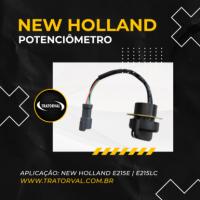 Potenciômetro 72204033 para Escavadeiras New Holland