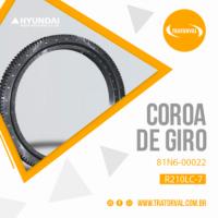Coroa de Giro para Escavadeiras Hyundai R210LC-7