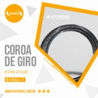 Coroa de Giro para Escavadeiras Hyundai 140LC-7