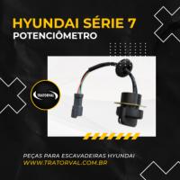 Potenciômetro para Escavadeiras da Hyundai Serie 7